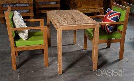 老榆木咖啡厅家具圆润的温情艺术之美
