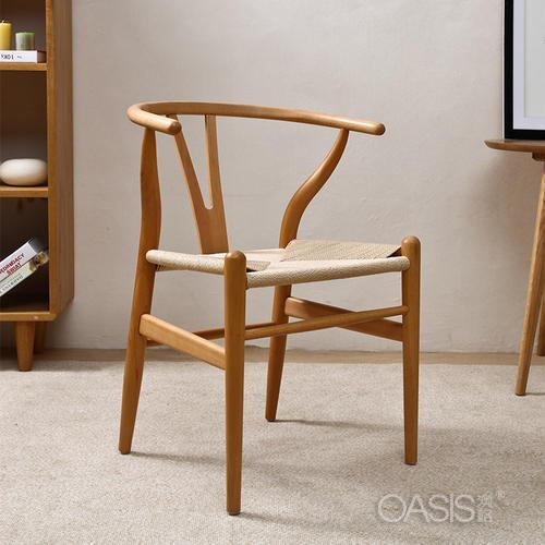 实木靠背餐椅洽谈椅