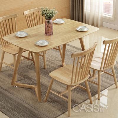 海南咖啡厅实木餐桌