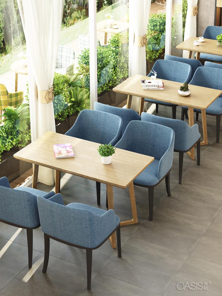 咖啡厅卡座沙发定制