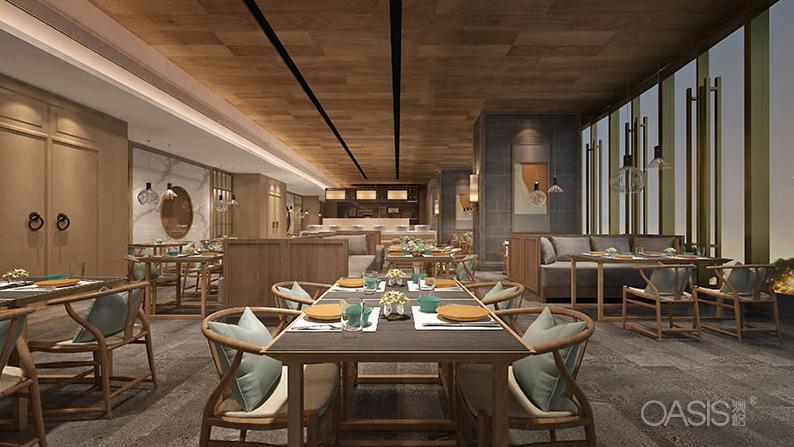 佛山南山中餐厅家具生产案例