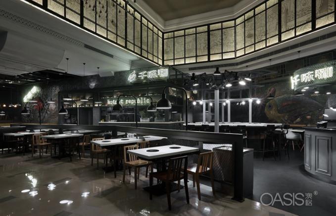 千味涮火锅家具生产案例