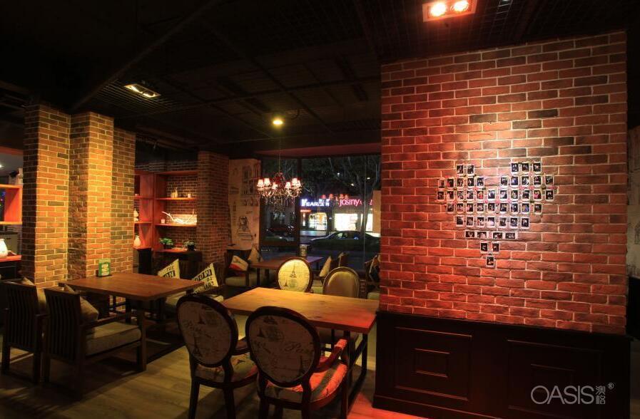 Tang+Coffee咖啡厅0124咖啡厅桌椅厂家生产咖啡厅沙发定制工程案例