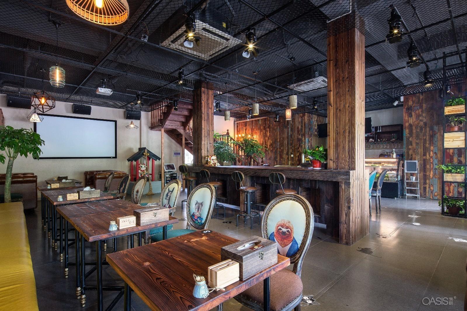 新苏式慢生活咖啡馆咖啡桌咖啡椅咖啡厅桌椅厂家直销